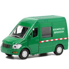 Φορτηγό μινιατούρα της Αποφράξεις Βριλήσσια